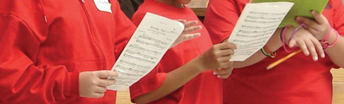 THE LA CHILDREN'S CHORUS AUDITIONS